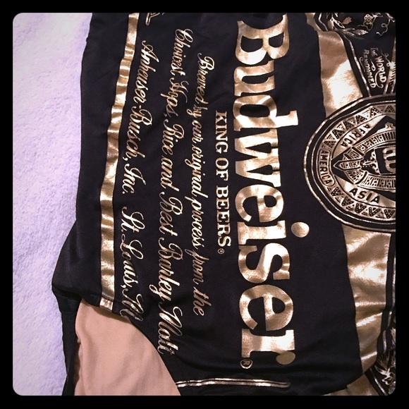 e95d64342ba88 Carabella Other - Vintage Carabella Budweiser Gold Black Swimsuit